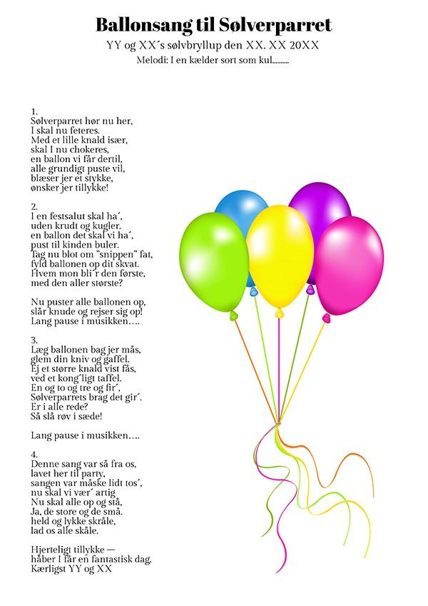 sjove festsange 50 år