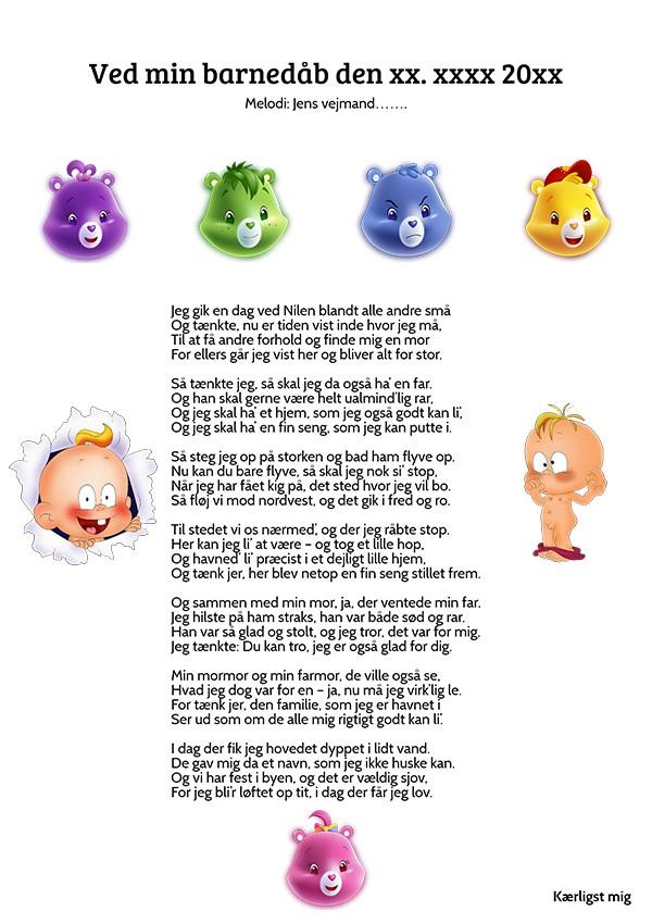 Alvorlig Gave fra bedsteforældre til barnedåb sing is billig movie EG75
