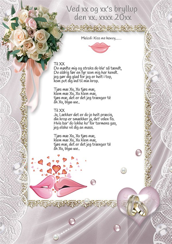Sanglege – Bryllup - Smarte festsange
