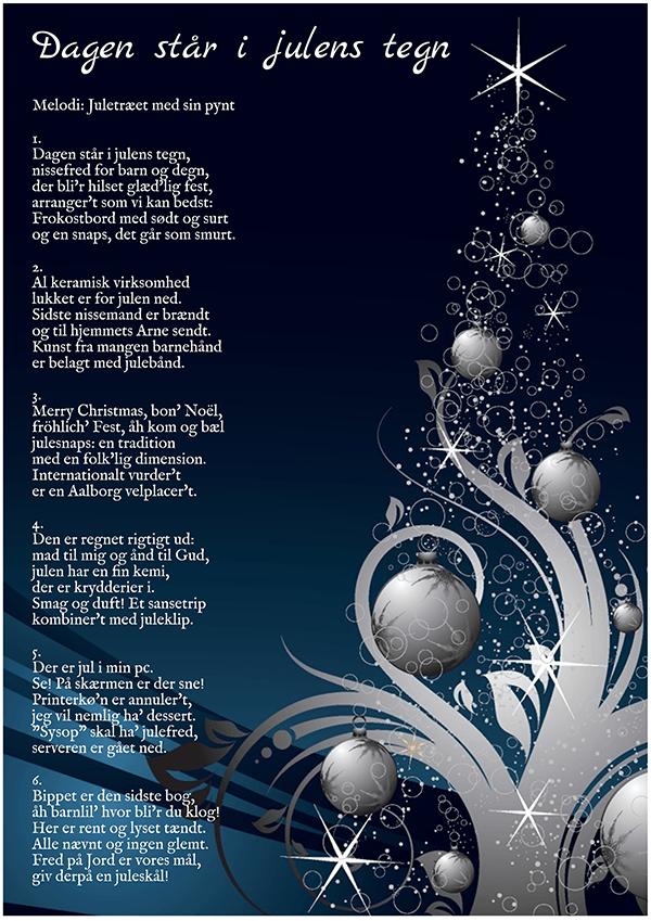 Dagen står i julens tegn