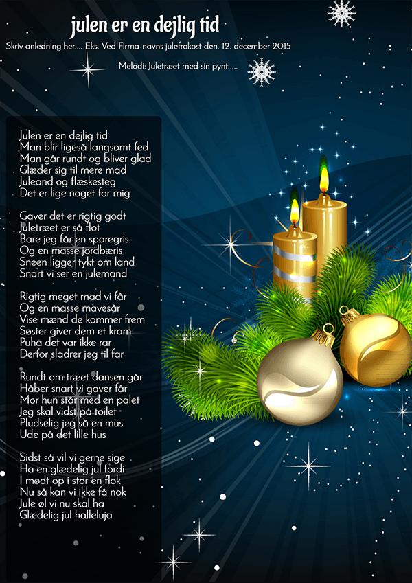 Julen er en dejlig tid