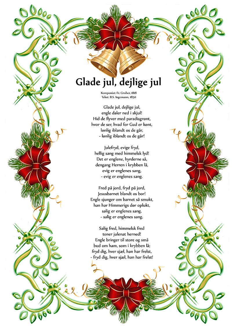 Glade jul dejlige jul