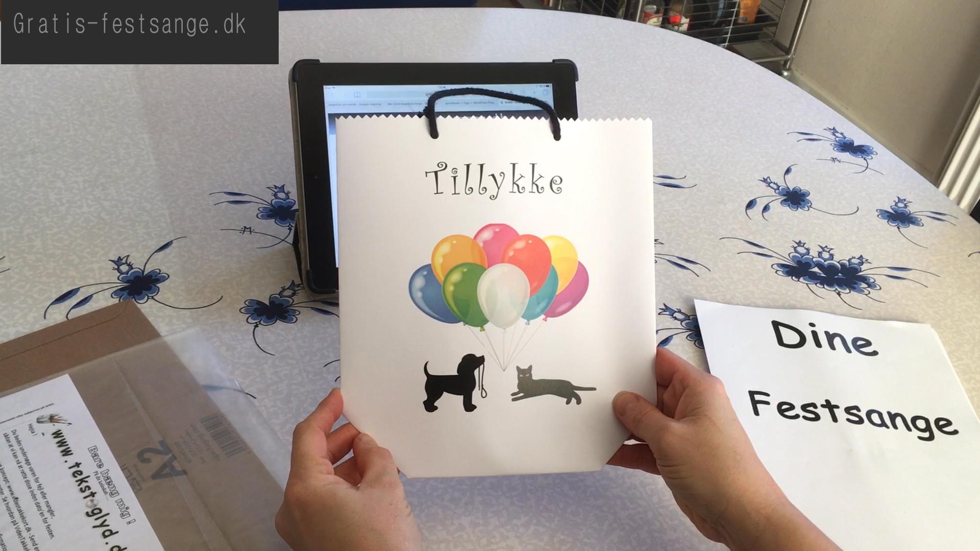 Sangskjuler med hunde og katte motiv nr 2 - universal width=
