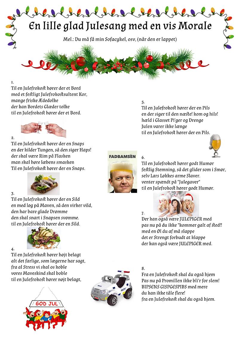 En glad lille julesang med en vis morale
