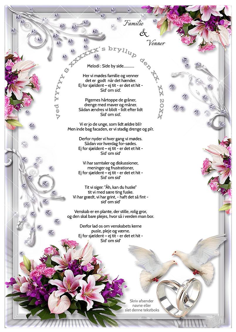 Familie og Venner til bryllup
