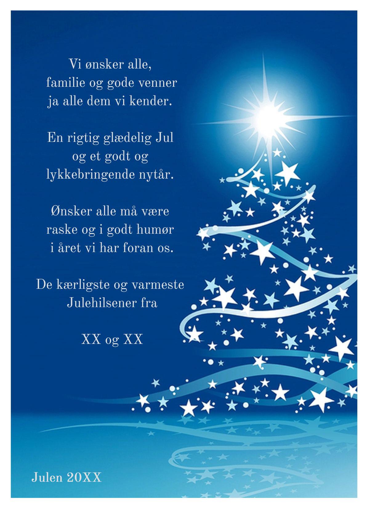Julekort med musik og sang nr 4
