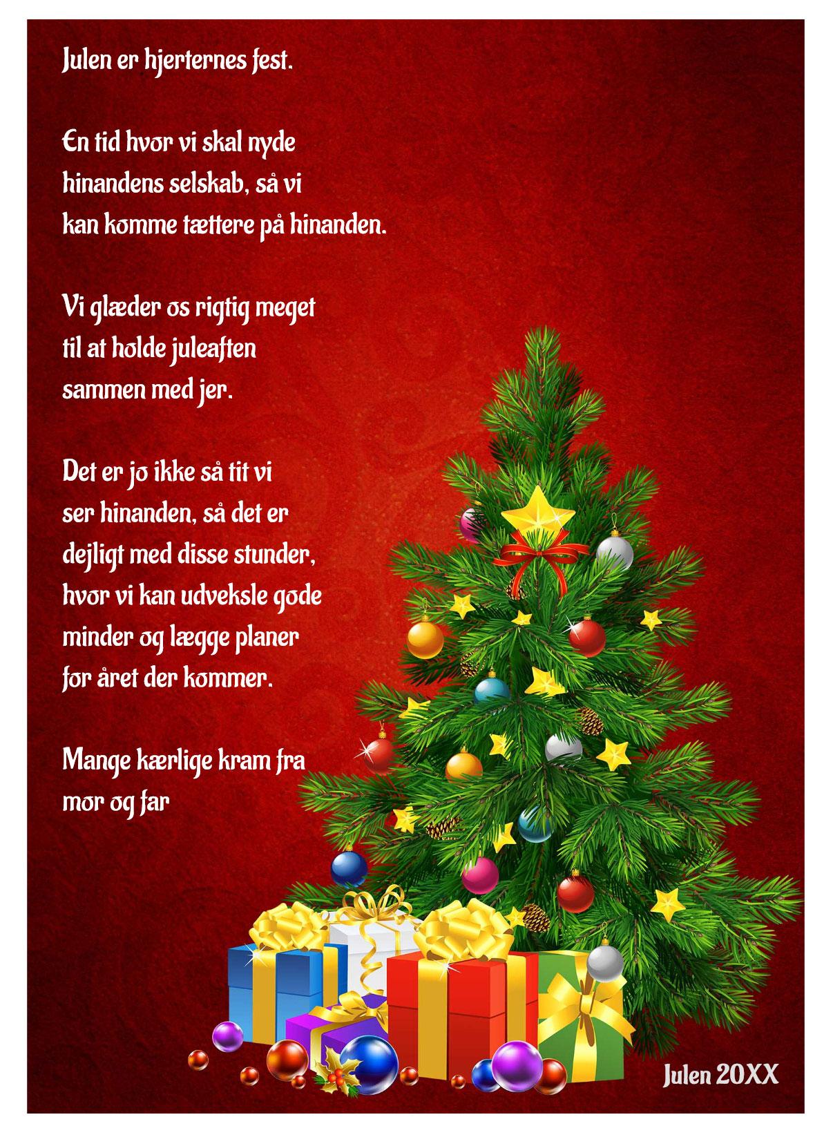 Julekort med musik og sang nr 5