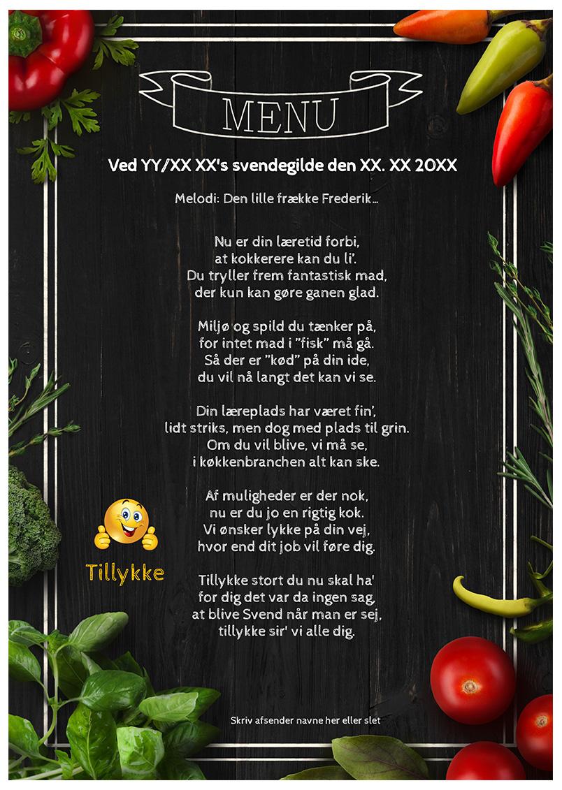 Sang til den udlærte kok