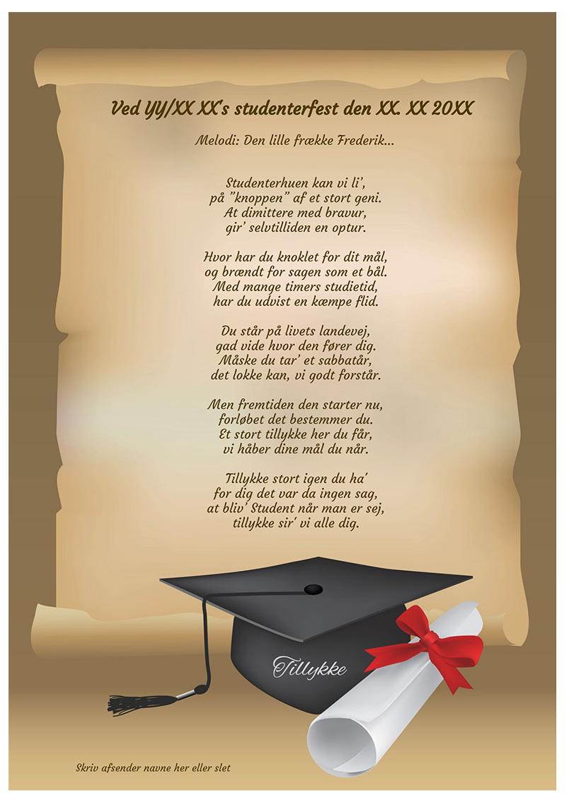Sang til studenten