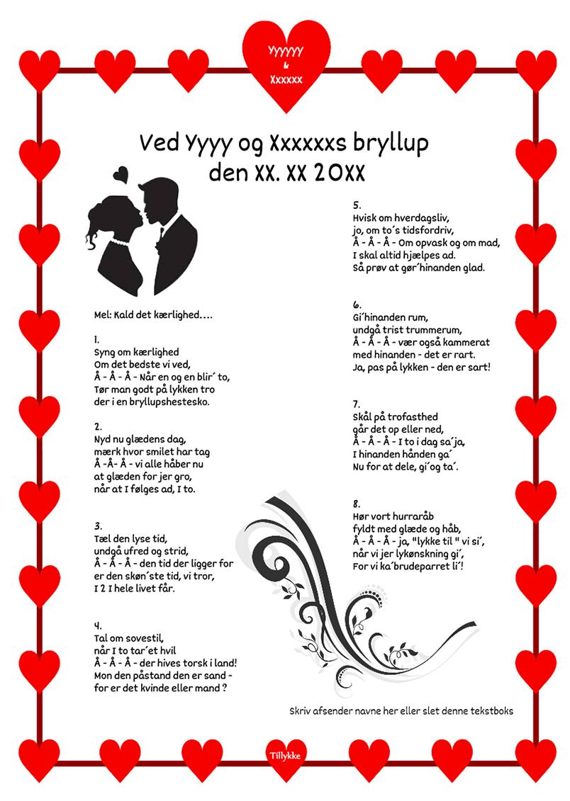 Syng om kærlighed