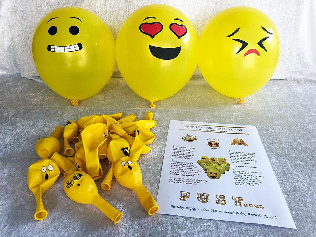 Smiley balloner