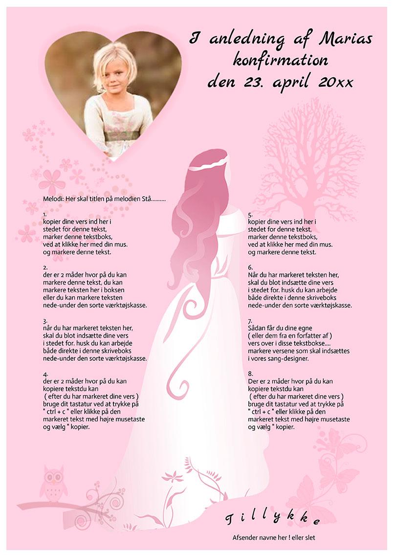 Design nr 12 - Pink