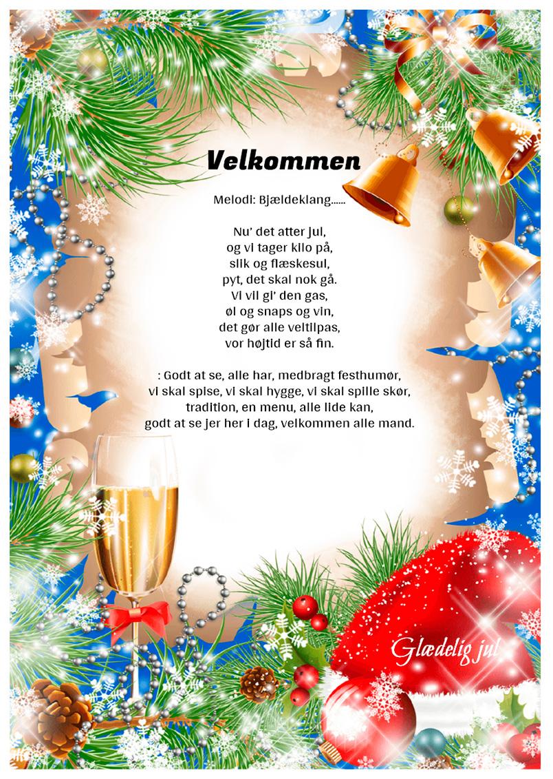 Jule velkommensang
