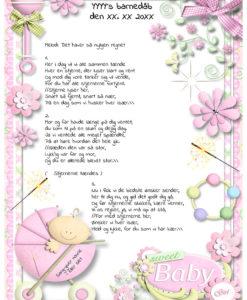 Sang til barnedåb