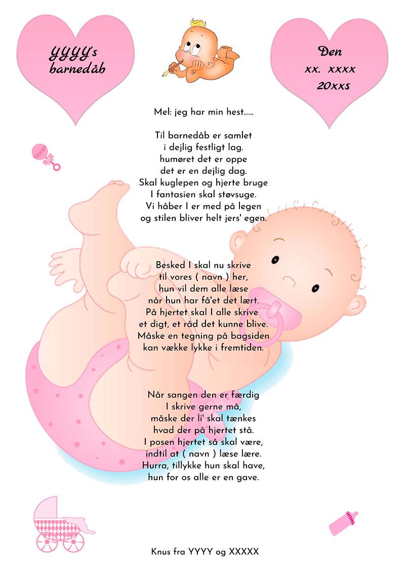 Hjertesang til barnedåb